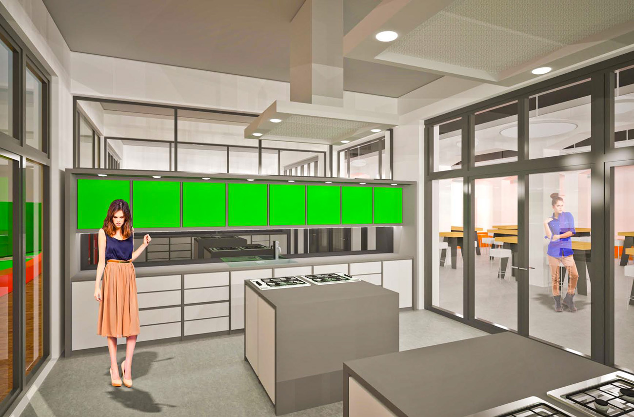 """Kitchen units at """"My Toys"""" Headquarters, Berlin"""